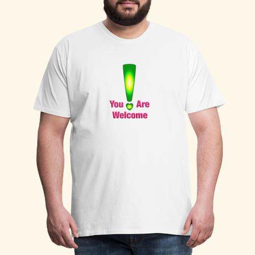 You are welcome3 - Männer Premium T-Shirt
