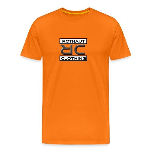 logo chrisri sw - Männer Premium T-Shirt