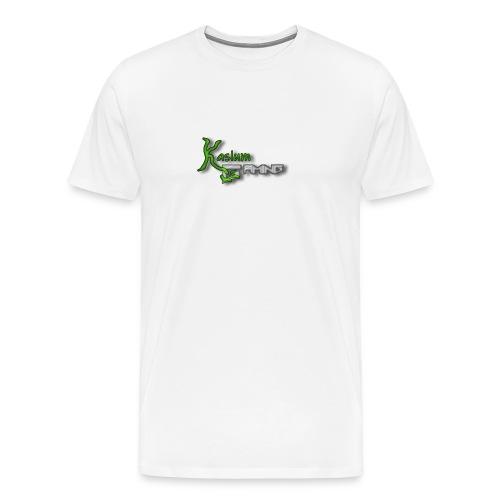 Kaslum Gaming Logo - Herre premium T-shirt