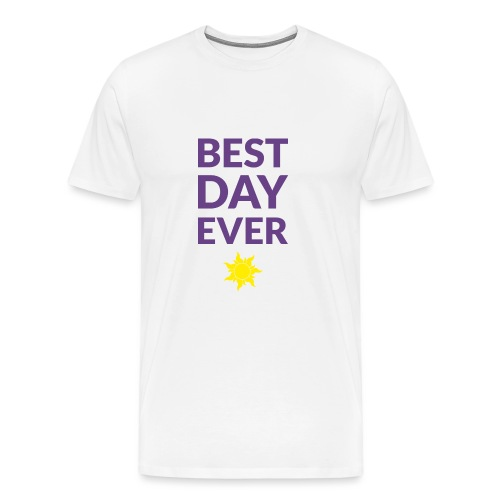 Best day ever - Tangled (dark) - Men's Premium T-Shirt