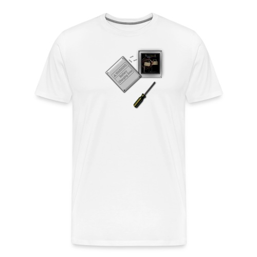 Battery Heart Economy T Shirt - Men's Premium T-Shirt