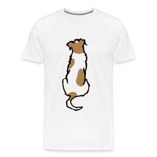 rueckanssicht - Männer Premium T-Shirt