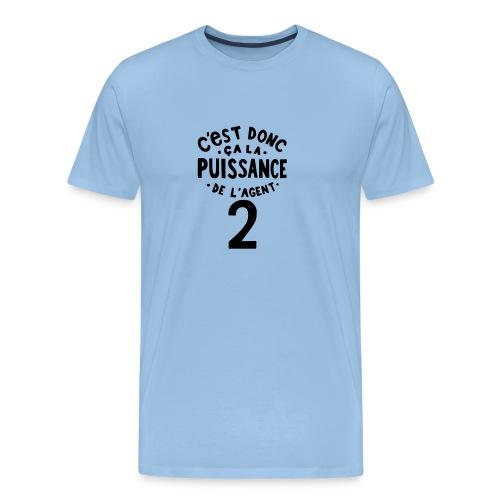 La puissance de l'agent 2 - T-shirt Premium Homme