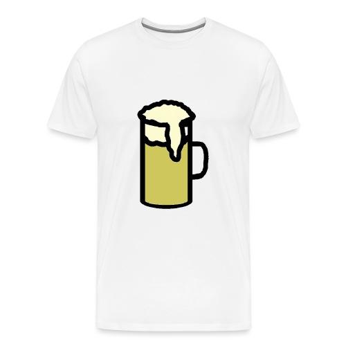 Bier png - Männer Premium T-Shirt