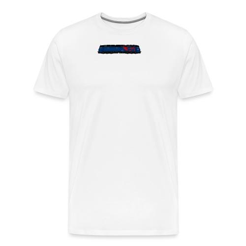 DSB litra ME blå - Herre premium T-shirt