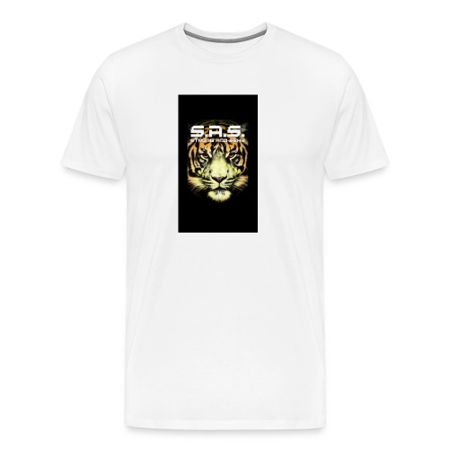 sas tiger wide jpg - Mannen Premium T-shirt