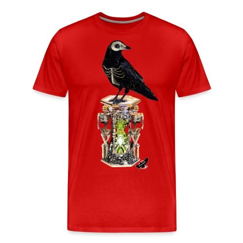 'Memento Mori' by BlackenedMoonArts - Herre premium T-shirt