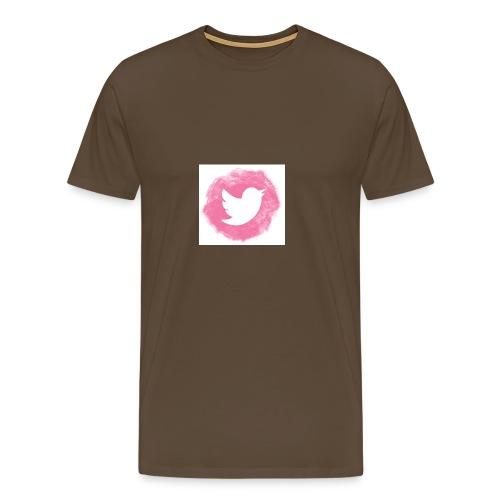 pink twitt - Men's Premium T-Shirt