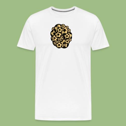 Fotball of footballs - Premium-T-shirt herr