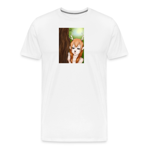 Sam sung s6:Deer-girl design by Tina Ditte - Men's Premium T-Shirt