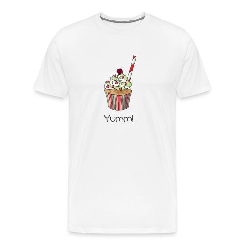 You are my yummy cupcake! - Men's Premium T-Shirt