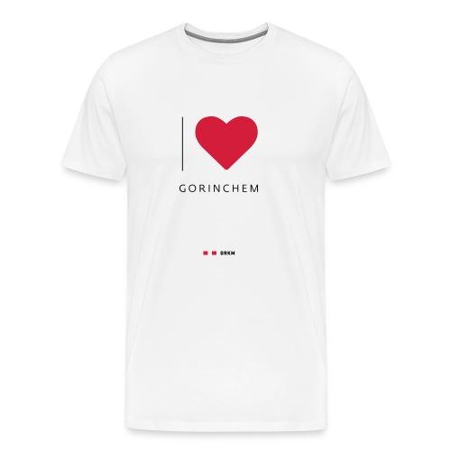 I love Gorinchem - Mannen Premium T-shirt