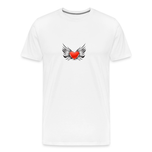 Heart Wings - T-shirt Premium Homme
