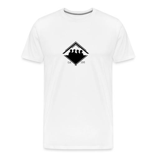 White Est. 2015 T-Shirt - Men's Premium T-Shirt