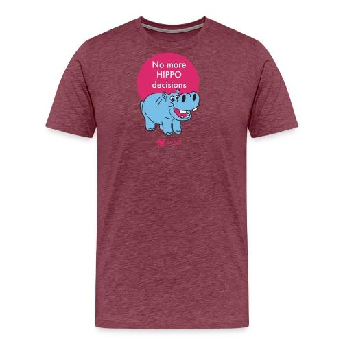hippo - Premium-T-shirt herr
