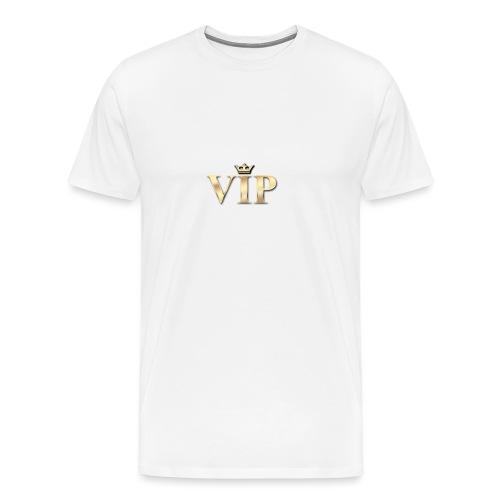 wag-vip-png - Herre premium T-shirt