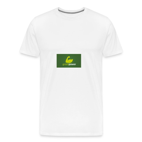 Green Power fitness logo - Men's Premium T-Shirt