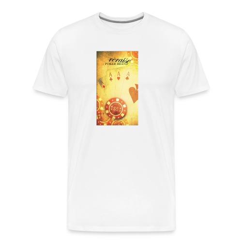 Handycover reraise 4aces png - Männer Premium T-Shirt
