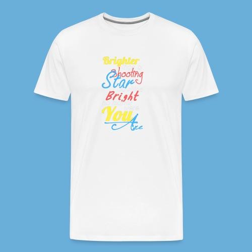 Shooting Star - Mannen Premium T-shirt