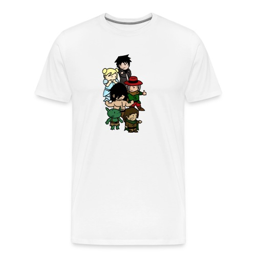 Boxer blanc png - T-shirt Premium Homme