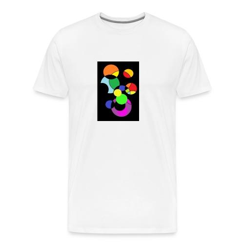 circles - Camiseta premium hombre