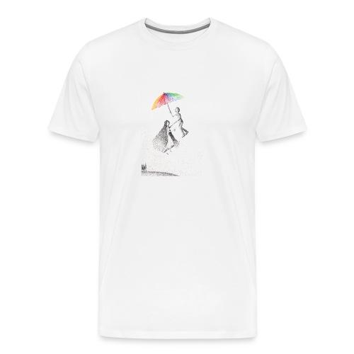 Nel vuoto per mano - Maglietta Premium da uomo