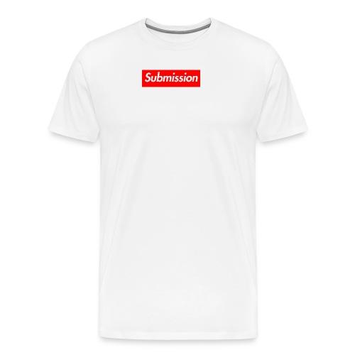 Submission Box Logo - Men's Premium T-Shirt
