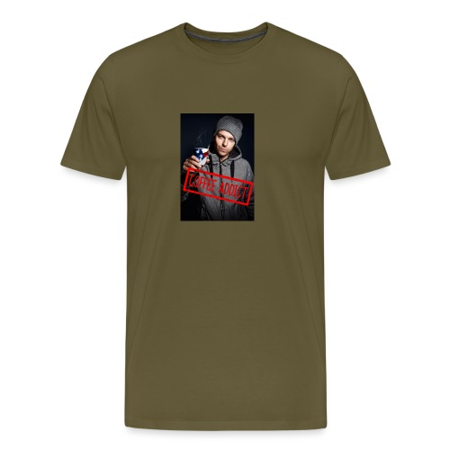 Coffee addiction - Men's Premium T-Shirt