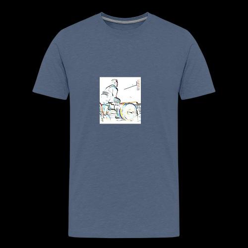 Deadlift - Miesten premium t-paita