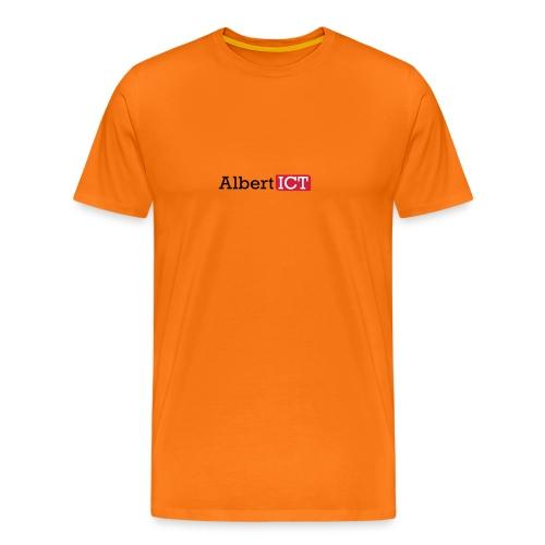 AlbertICT logo full-color - Mannen Premium T-shirt
