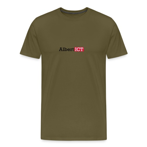 AlbertICT logo full-color - Mannen Premium T-shirt