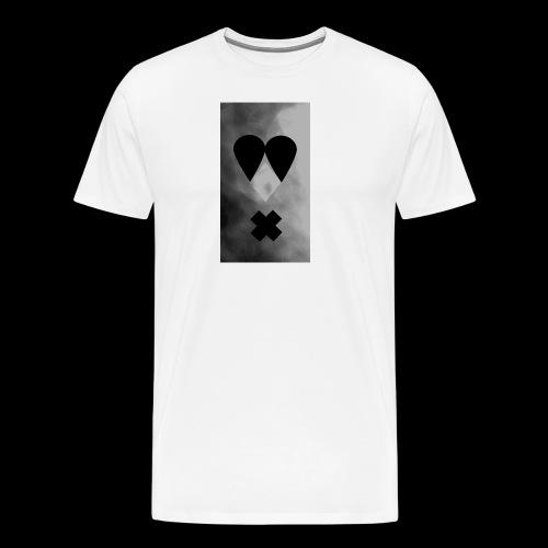 Schwarzweissgrau - Männer Premium T-Shirt