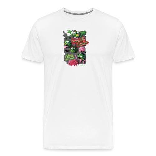 Zombie Graffiti - Maglietta Premium da uomo