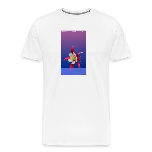 Flower iPhone case - Men's Premium T-Shirt