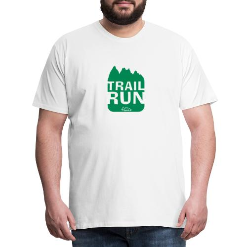Trail Run - Männer Premium T-Shirt