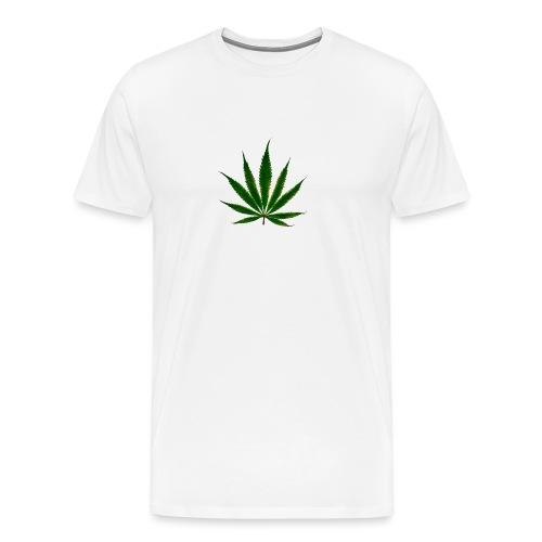 cannabis leaf - T-shirt Premium Homme