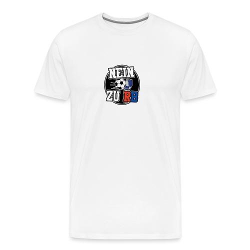 Nein zu Rund png - Männer Premium T-Shirt