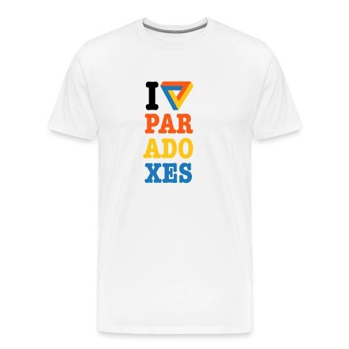 I love paradoxes - Men's Premium T-Shirt
