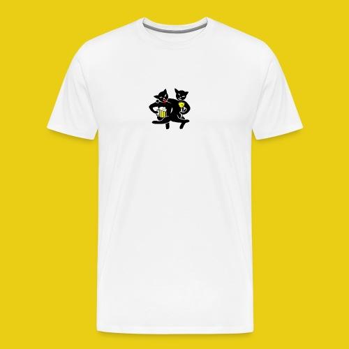 katzenshirt - Männer Premium T-Shirt