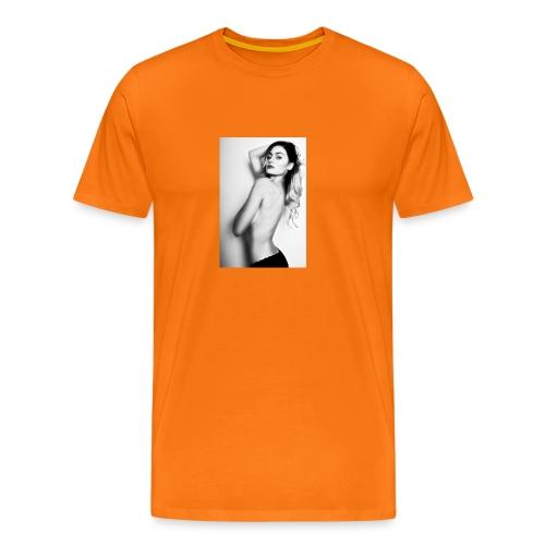 Hot babe b/w - Men's Premium T-Shirt