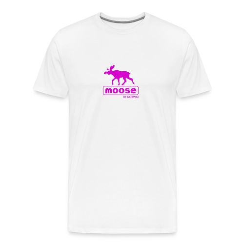 MooseofNorway - Premium T-skjorte for menn