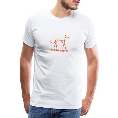 Podenco stilisiert - Männer Premium T-Shirt