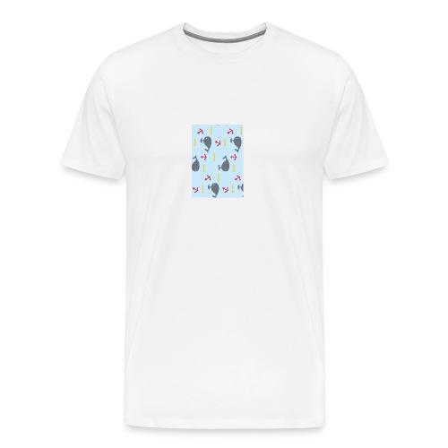 Whale Case - Camiseta premium hombre