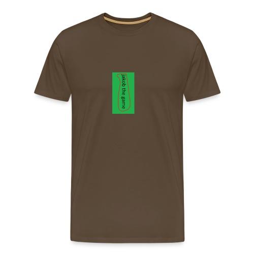 jakob the game - Herre premium T-shirt