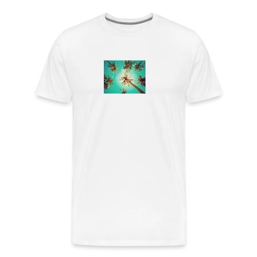 palm pinterest jpg - Men's Premium T-Shirt