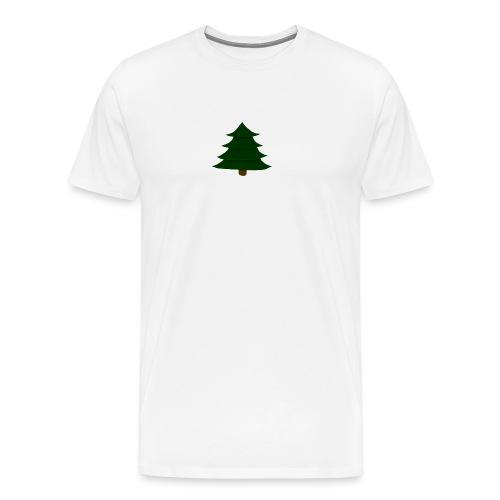 Prosta Choinka - Koszulka męska Premium