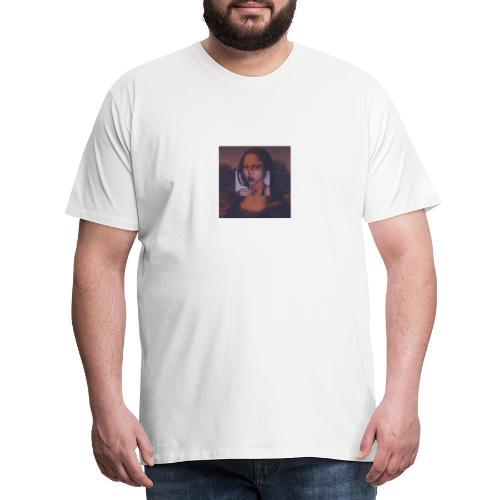 mona lisa - Mannen Premium T-shirt