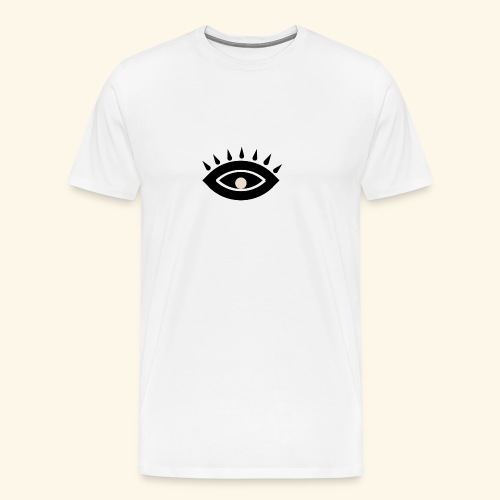 third eye - Premium-T-shirt herr