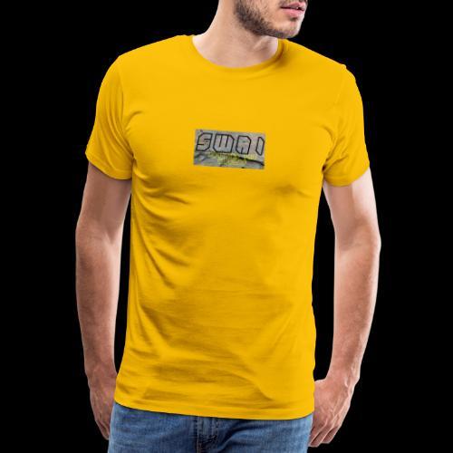 swai stoned boxlogo - Männer Premium T-Shirt
