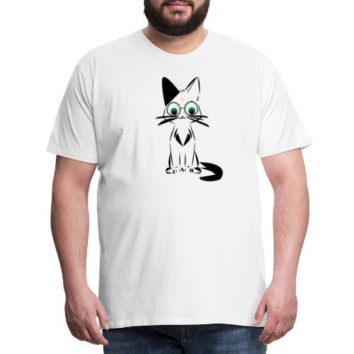 harry meowtter - T-shirt Premium Homme